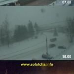 <b>Предновогодний снегопад в Солотче (25.12.2014)</b>