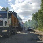 <b>Очередной ремонт дороги до Солотчи</b>