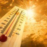 <b>Предстоят жаркие выходные! Метеопредупреждение!</b>
