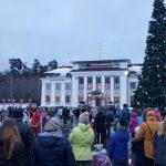 <b>Фототчет с новогодних гуляний в Солотче 02.01.2017</b>