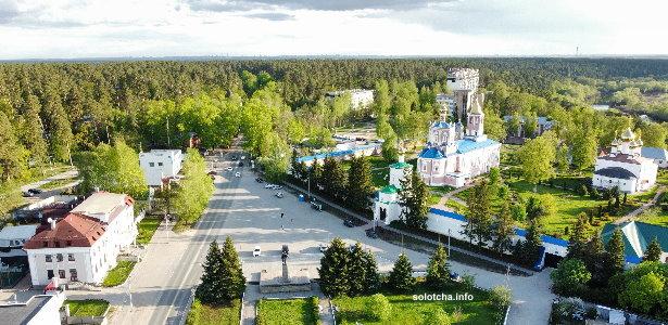 Поселок Солотча Рязань