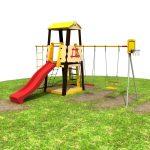 <b>В 2018 году в Солотче появятся две детские площадки</b>